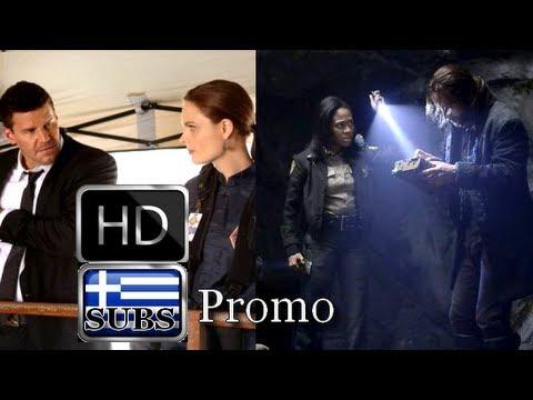 Bones & Sleepy Hollow Premiere Promo with Greek subs