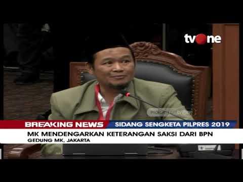 Saksi BPN 02 Agus Maksum Beberkan Ketidakwajaran Data Dalam Daftar Pemilih Tetap (DPT)