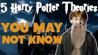 5 Harry Potter Theories You May Not Know