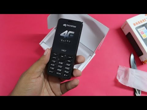 ce81211f0 Micromax Bharat 1 Unboxing