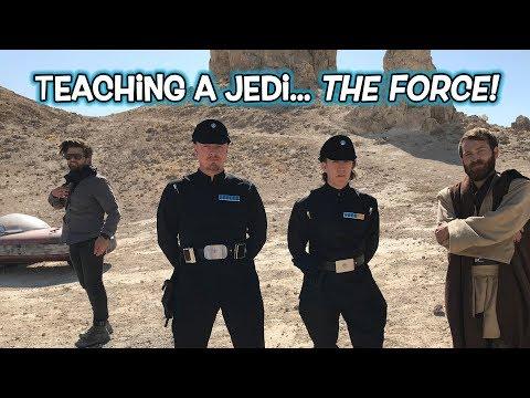 Teaching a Jedi THE FORCE (Easy Card Magic Tutorial) thumbnail