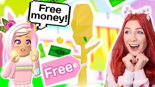 HOW TO GET FREE UNLIMITED MONEY IN ADOPT ME // Roblox Adopt Me Money Trees