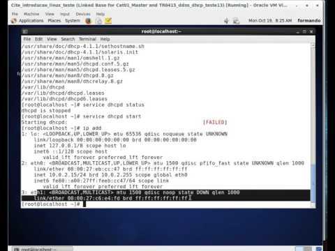 Centos DHCP video1