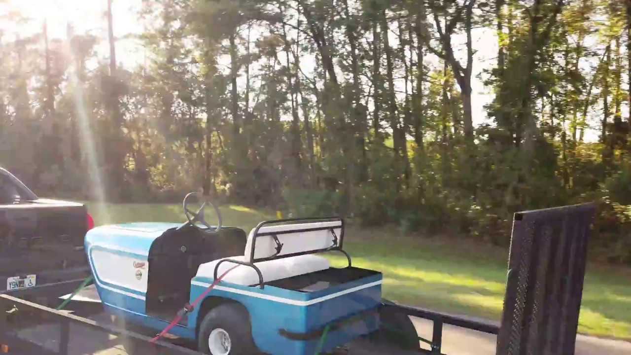 Walk Around Tour Of My 1964 Cushman Golfster Golf Cart Youtube 1975 Wiring Diagram