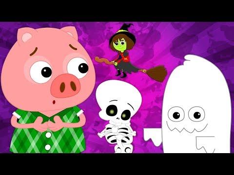 Хэллоуин вернулся | Хэллоуин Песни Для Детей | Дети Песни | Halloween Is Back | Kids Rhymes