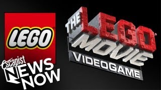 THE LEGO MOVIE VIDEOGAME SDCC 2013 (Escapist News Now)