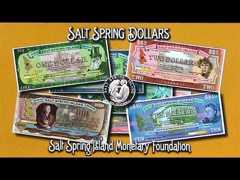 Beautiful Money — Salt Spring Island's Community Currency