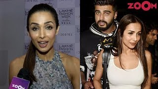 Malaika Arora left BLUSHING after question on Valentine's day