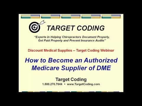 How to Become An Authorized Medicare DME Supplier