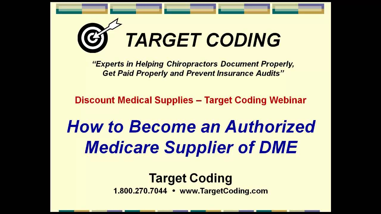 quality design 968e8 15464 How to Become An Authorized Medicare DME Supplier
