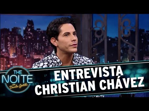 Entrevista Christian Chávez | The Noite (10/10/17)