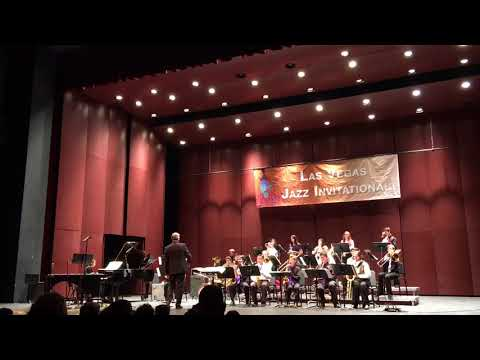 Tiger of San Pedro, Middle School Honor Jazz Band, Las Vegas Academy, Lowden Theater, 4/21/18