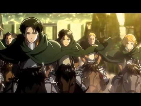 shingeki no kyojin movie 2 Jiyuu No Tsubasa trailer 2 HD