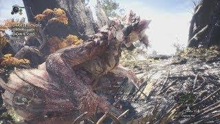 Monster Hunter World - Rathalos Bow Gameplay