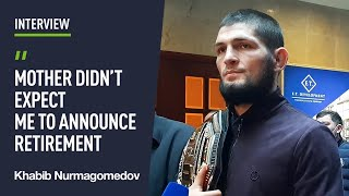 'I'm #1 pound-for-pound, mission accomplished' - Khabib brings the UFC belt back to Dagestan