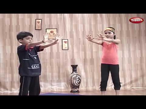 Body Management | Yoga for Children in Telugu | Yoga For Kids Complete Fitness