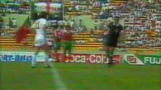Copa do Mundo 1986 - Grupo F - Portugal 0 x 1 Polônia