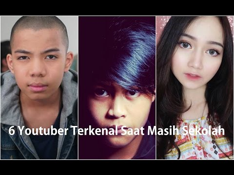 Enam (6) Youtuber Indonesia yang Sudah Terkenal Saat Masih Sekolah