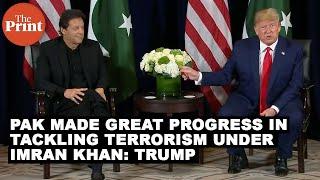 Donald Trump  Mran Khan Meet To Discuss Kashmir Issue Terrorism FULL V DEO