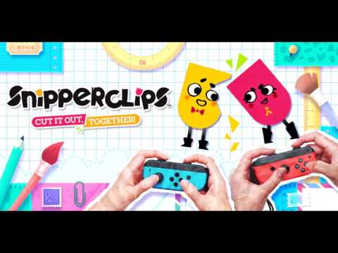 Snipperclips Music -  Noisy Notebook C
