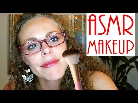 OMG! I Do Your Makeup!  ASMR Role Play Soft Spoken Binaural Brush sounds