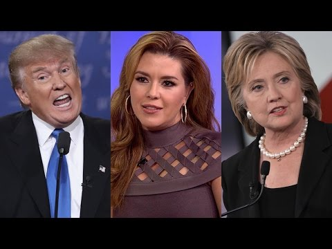 Hillary Clinton Tries To Bring Up Alicia Machado to Smear Donald Trump, Doesn't Vet Her (REACTION)