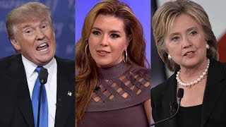 Hillary Clinton Tries To Bring Up Alicia Machado to Smear Donald Trump, Doesn
