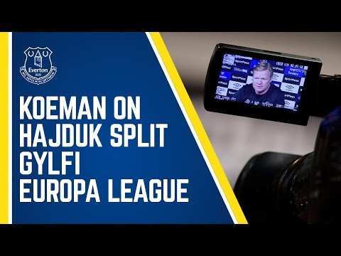 KOEMAN: PRE-HAJDUK SPLIT PRESS CONFERENCE - SIGURDSSON, EUROPA LEAGUE + MORE