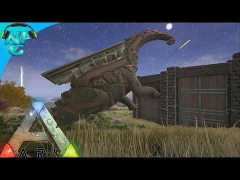 Raiding with the Titanosaur! ARK Survival Evolved - PvP Season E24