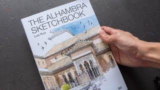 Review: The Alhambra Sketchbook by Luis Ruiz