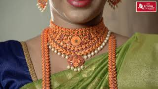 Shri Krishna Pearls - Diwali Temple Jewellery Collection