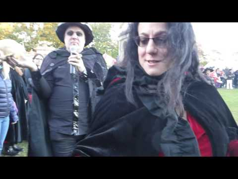 Salem Halloween 31st October 2016  Witch blessing