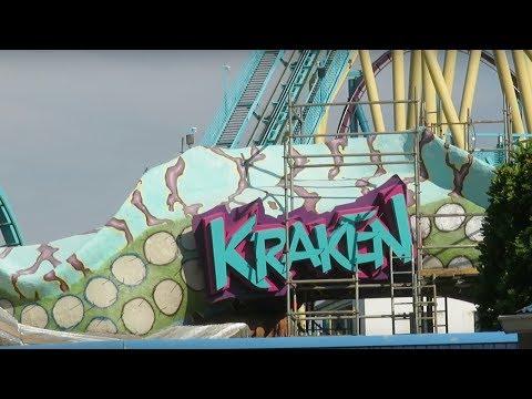 Kraken Unleashed Virtual Reality Roller Coater Update Sea World Orlando | BrandonBlogs