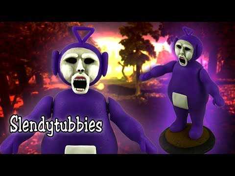 TINKY WINKY Posable Figure | Slendytubbies ➢COLD PORCELAIN ➢POLYMER CLAY TUTORIAL