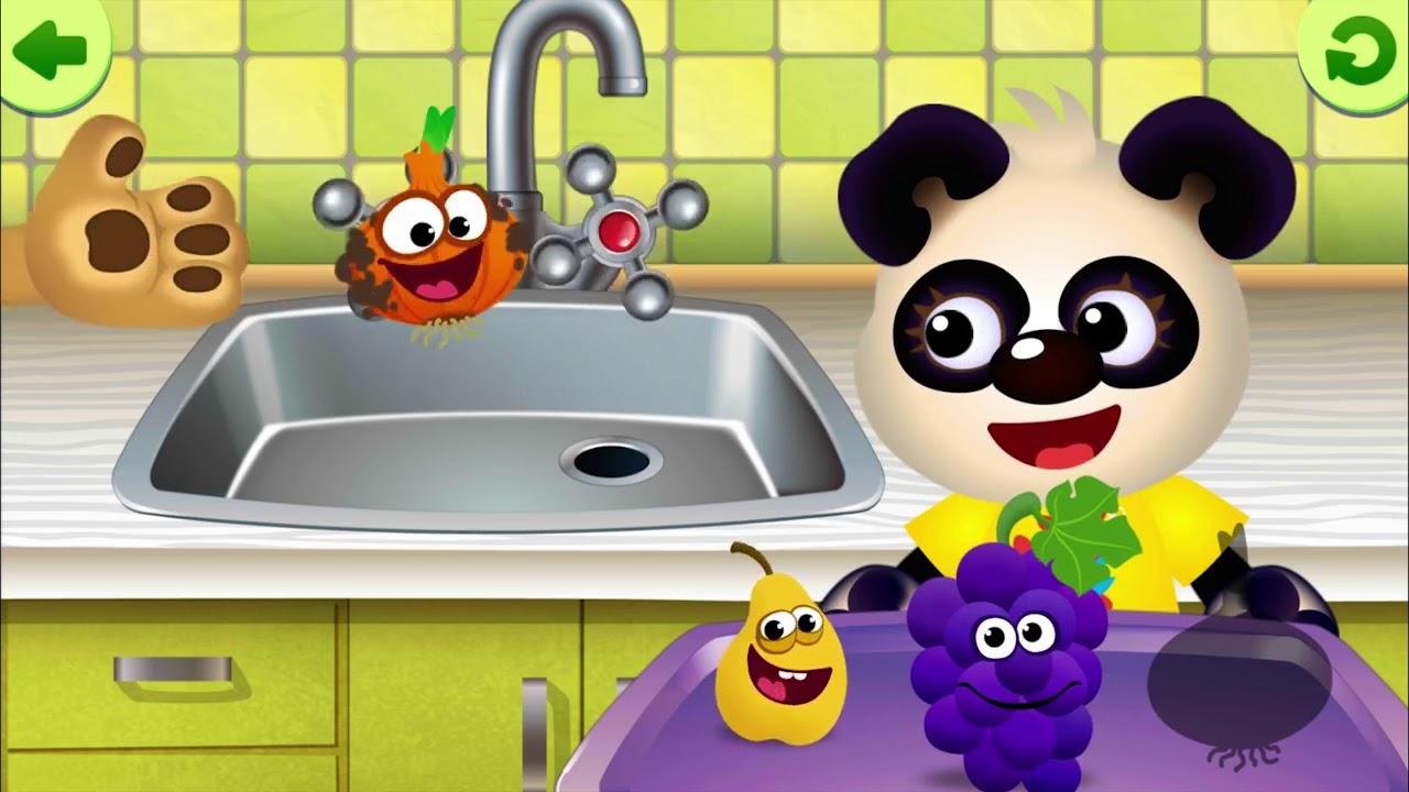 Смешная Еда! Детская развивающая игра для детей учим ...