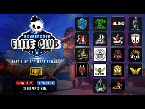 Watch Entity , VSG, SouL, Blind Compete Against The Top Squads | SkyEsports Elite Club Week 3