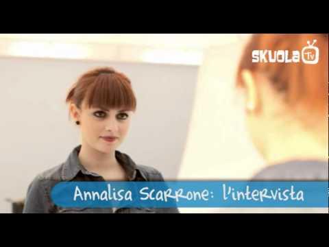 Annalisa Scarrone di Amici si racconta