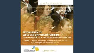 Lasst und sorgen, lass uns wachen, BWV 213: No. 13, Lust der Volker, Lust der Deinen (Chorus)