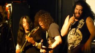 Bonded By Blood-Psychotic Pulse at The Star and Garter, Manchester, England, 22nd May 2014