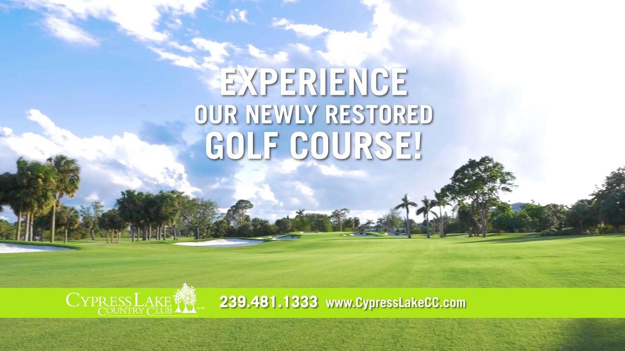 cypress lake country club golf restoration 30 youtube