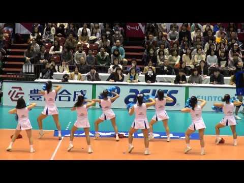 20140301  東レアローズ チア 東京体育館