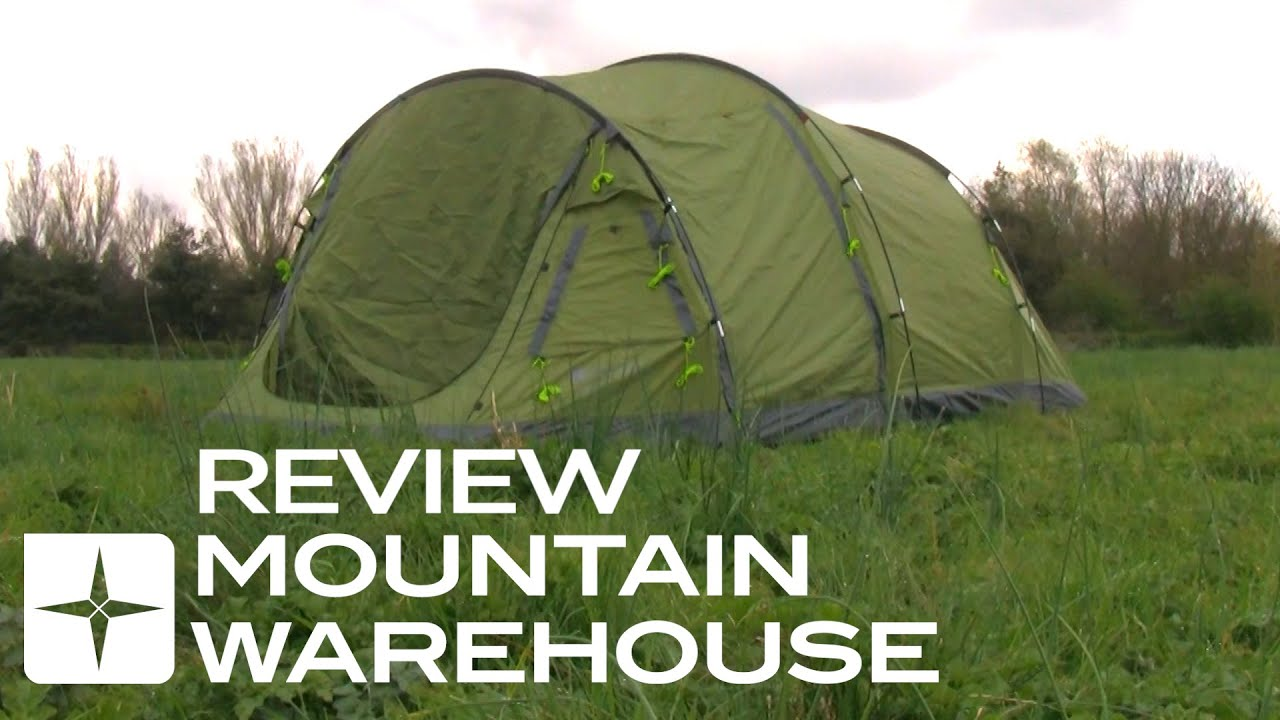 & Coniston 4 Person Tent Review - YouTube