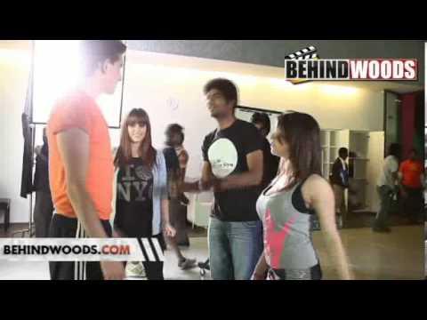 PODA PODI FILM MAKING VIDEO PODA PODI SONGS PODA PODI CLIPS - BEHINDWOODS.COM