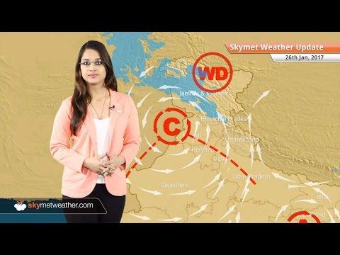 Weather Forecast for Jan 26: Snow in Kashmir, Himachal; Rain in Chennai, Delhi