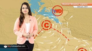 Weather Forecast for Jan 26: Snow in Kashmir, Himachal; Rain in Chennai, Delhi