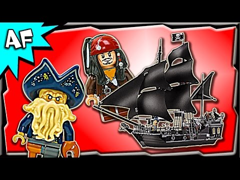 Lego Pirates of the Caribbean BLACK PEARL 4184 Stop Motion Build Review