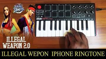 Illegal Weapon 2.0 - Street Dancer 3d   iphone Ringtone By Raj Bharath  Prabhudeva    Tanishk Bagchi