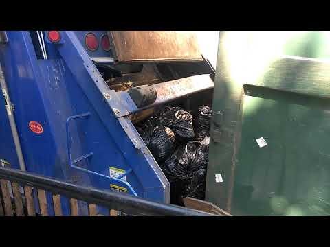 Full compactor in Newark Delaware gets emptied