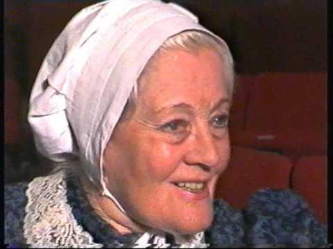 Rachel Kempson, Lady Redgrave at the Redgrave Theatre.