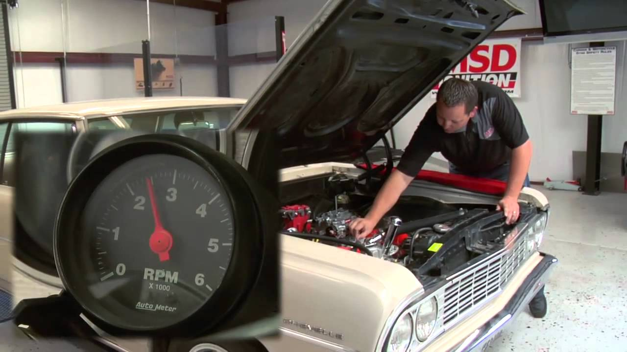 small resolution of chevy distributor with msd digital 6al msd wiring